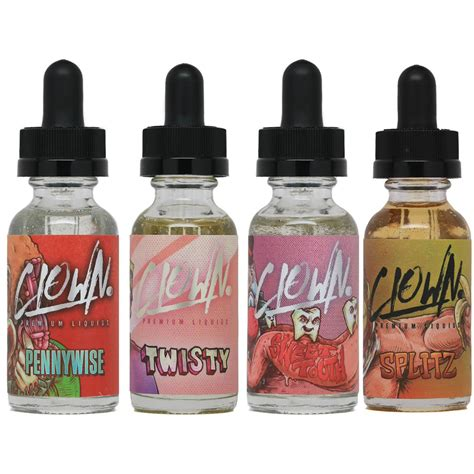 Vape Vaping Vapor Liquid E Juice Chocoberry clown premium liquids vapecentric