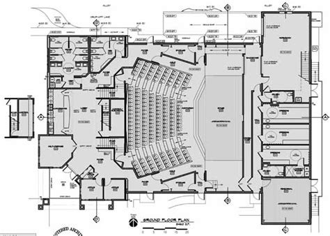floor plan theatre floor plans