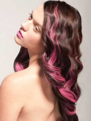 pink hair streaks vibrant hair colors to try for the summer