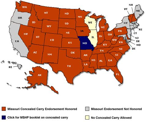 concealed carry usa map concealed carry permit reciprocity map builder concealed