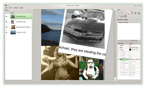 k layout editor the kde picture editing software applications included