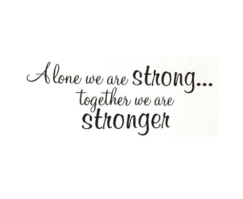 wall sticker decal quote vinyl art lettering    stronger family  wall stickers