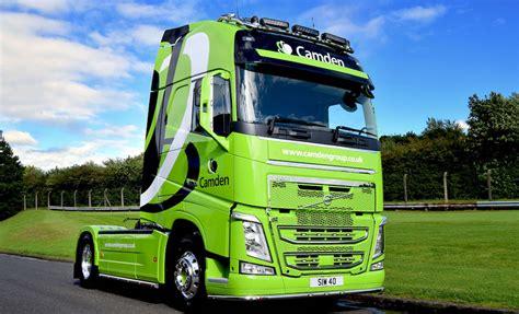 flagship volvo fh  camden group fleet uk haulier