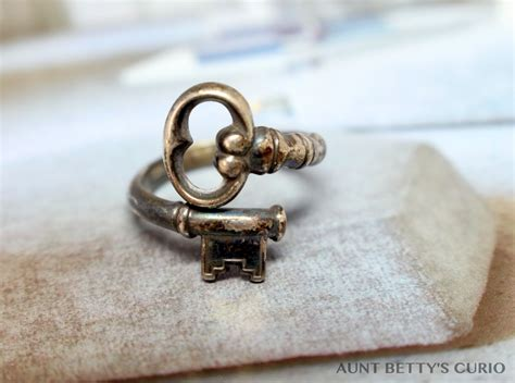 sterling silver ring avon ring avon key ring by