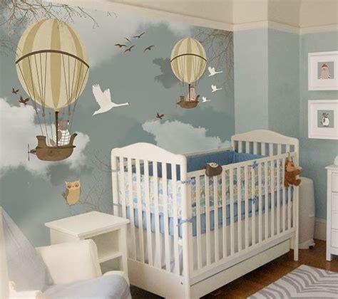 beautiful nursery mural via http 2littlehands blogspot