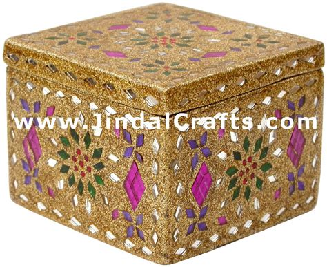 Home Decorative Item handmade lac decorative jewelry box indian rich crafts