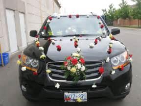 wedding car decorations simple wedding car decoration