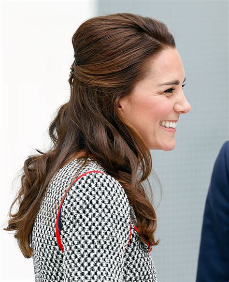 is kate middletons hair mahogany kate surprises with new short hairdo at wimbledon photo 3