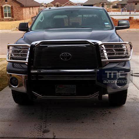 Toyota Tundra Guards 2007 2013 Toyota Tundra Brush Guard Stainless Steel Grill