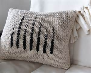17 best ideas about knitted pillows on knitted