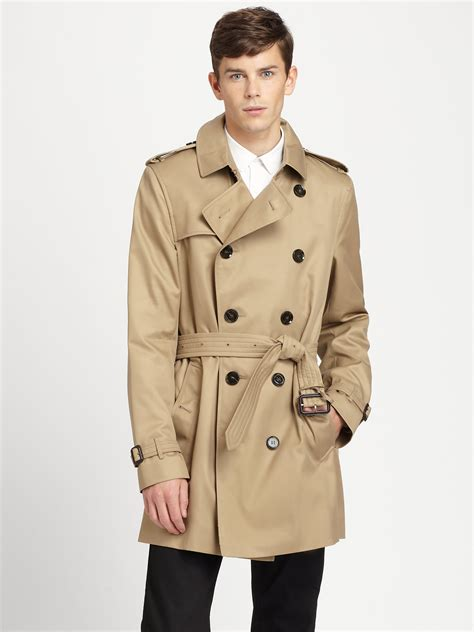 burberry britton modernfit trenchcoat in for