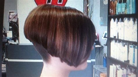 high angled stacked bob 17 best images about high stacked bobs on pinterest head