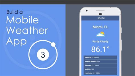 3 mobile app ionic 3 mobile weather app build