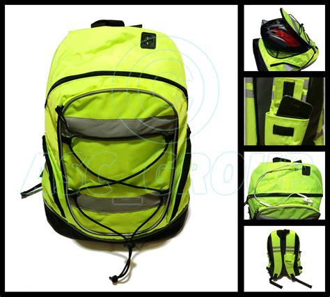 Motorrad Rucksack Signalfarbe by Signalfarbe Reflektierend Rucksack Rucksack Schultasche