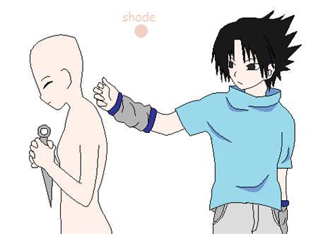 base c x you and sasuke base by yuki itzal on deviantart