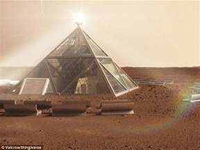is this what a house on mars will look like six sided