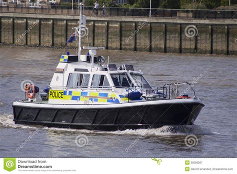 thames river police boats london 8 august 2012 police boat patrolling on the river