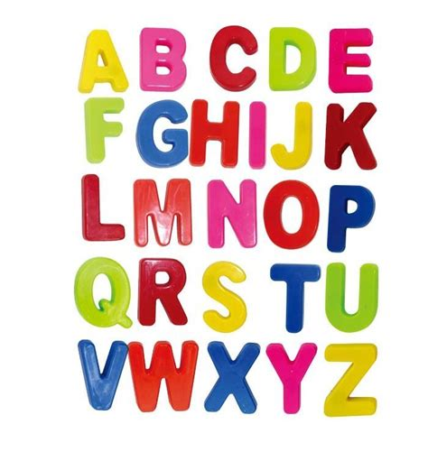 Magnet Letters colorful abc alphabet fridge magnets early letter magnetic