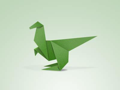 Easy Origami Dinosaur - dinosaur origami for origami
