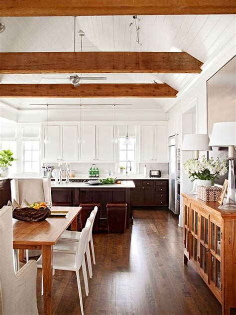 wooden beam ceiling for contemporary dining room ideas stylish ceiling designs that can change the look of your home