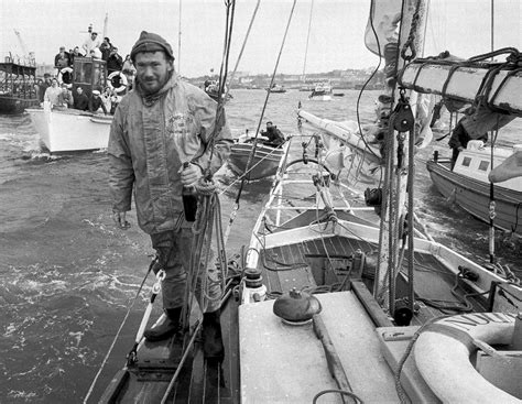 round robin boat race lost robin knox johnston photo archive discovered after