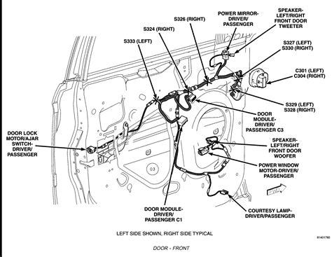 dodge ram drivers door wiring diagram rear get free