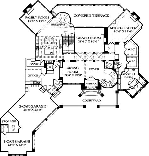6000 sq ft house plans european house plan 180 1043 5 bedrm 9104 sq ft home plan