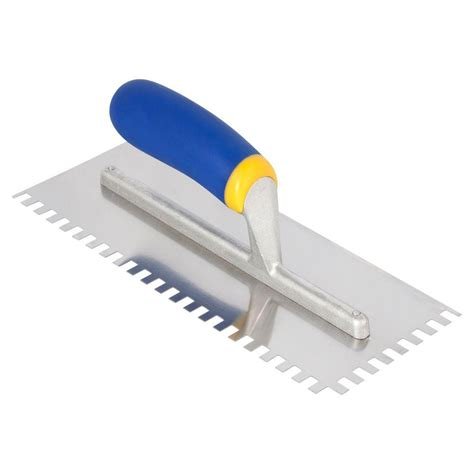 What Type Of Trowel For Floor Tile by Qep 1 4 X 3 8 X 1 4 In Square Notch Stainless Steel