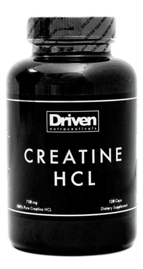 creatine no water retention creatine hcl product information