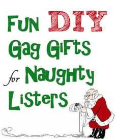 Cute gag christmas gifts to make