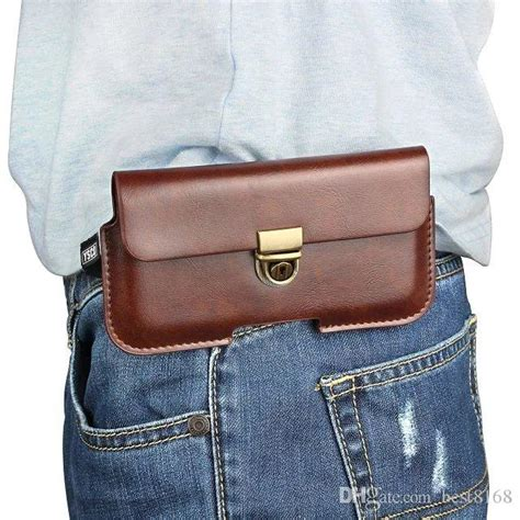 hip horizontal holster general leather clip case