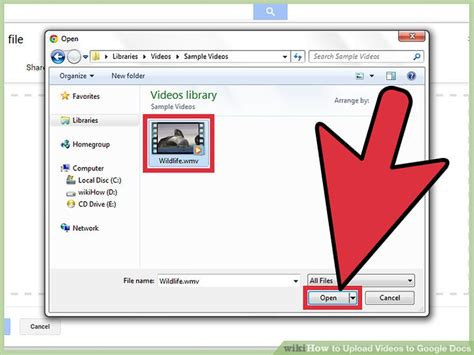 google upload images how to upload videos to google docs with pictures wikihow