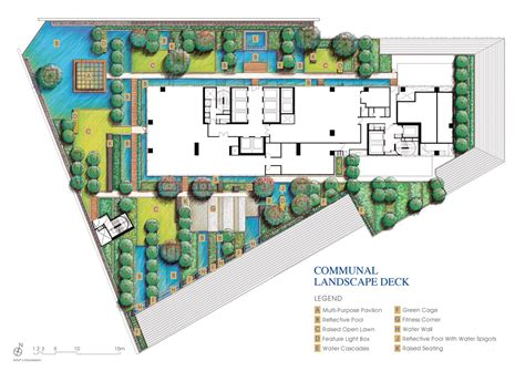 in plan floor plan site plan