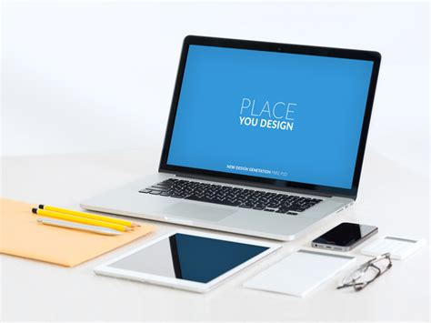 laptop psd template psdrepo laptop mockup free mockups fonts
