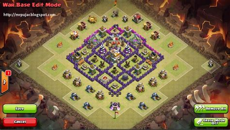 base layout yang baik multi edit layout mempermudah desain base clash of clans