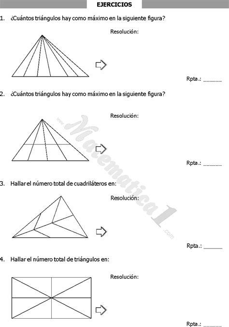 conteo de figuras matematicas ejercicios resueltos rpta