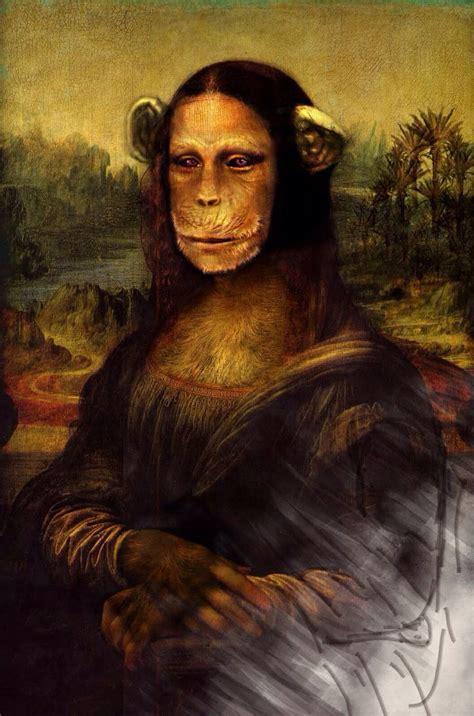 mona pictures mona with a chimpanzee mona