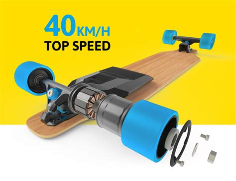 mello motors mellow an electric drive for every skateboard now on