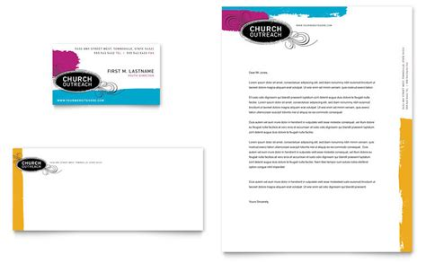 Church Outreach Ministries Business Card Letterhead Template Word Publisher Outreach Plan For Non Profit Template