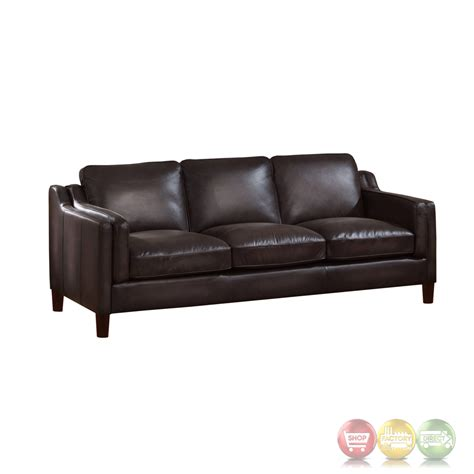 dark grey leather sofa ballari dark grey sofa in hand rubbed top grain leather