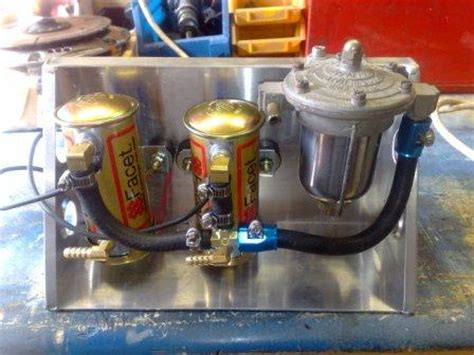 twin fuel pump plumbing