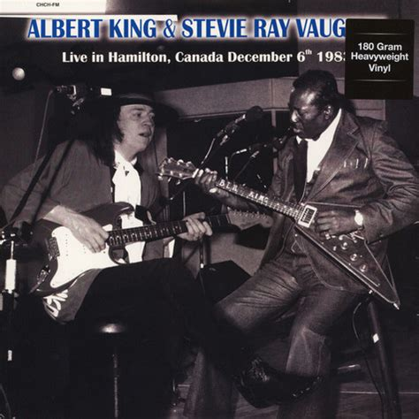 albert king stevie ray vaughan chch studios hamilton canada december   vinyl lp