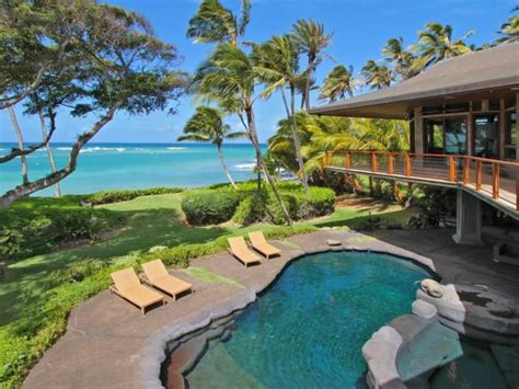haus hawaii luxusvilla mit traumblick bietet erholung unter palmen