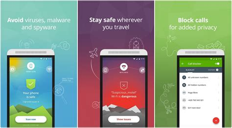 antivirus avast mobile 5 top antivirus and security apps for android