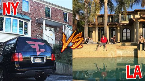 faze house faze house la vs faze house ny youtube