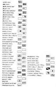 us highway map symbols images