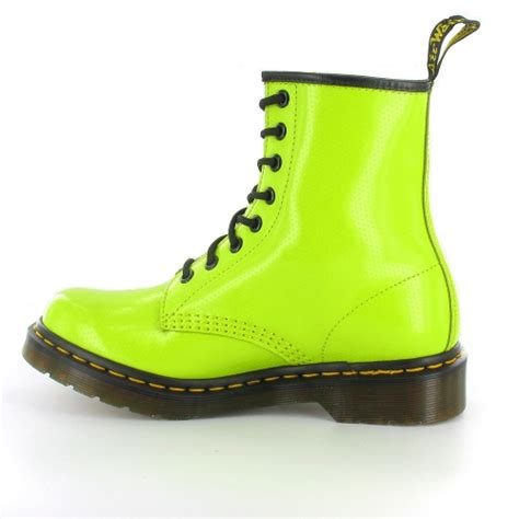 lime green boots dr martens dr martens 1460w qq dot womens 8 eyelet ankle