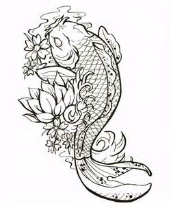 Two Koi Fish Outline by 25 Best Ideas About Koi Fish Drawing On Koi Fish Koi Painting And Koi