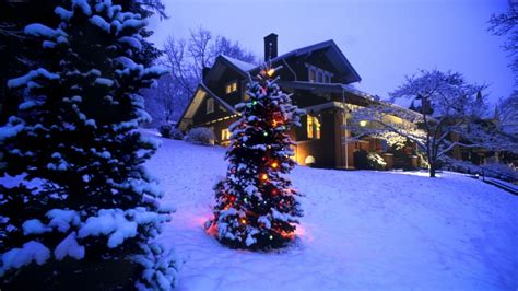 google images christmas scenes 浪漫雪景壁纸 第10张 1920x1080 桌面壁纸 天堂图片网