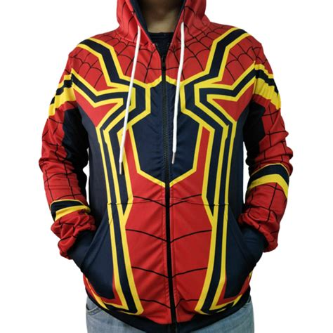 Raglan New Captain America 06 2018 infinity war hoodie jacket